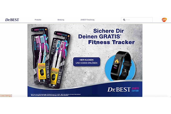 dr best gratis fitness tracker