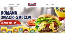 Homann Snack Saucen gratis testen Aktion